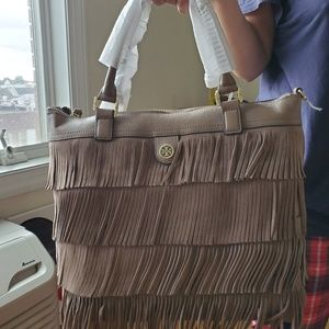 New with tags and dust bag Tory Burch fringe bag